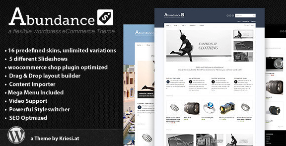 Abundance WordPress E-commerce Theme