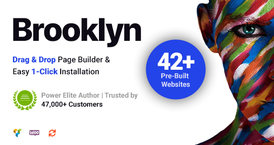 Brooklyn Creative multi-purpose wordpress theme