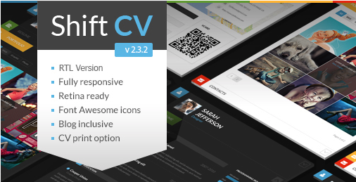 ShiftCV WordPress Theme