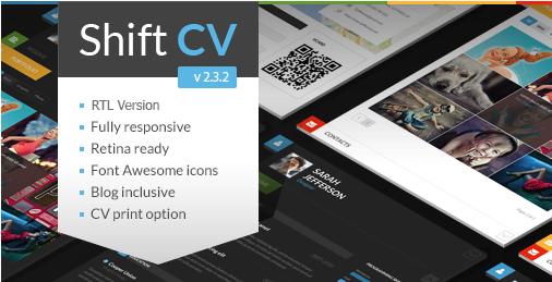 ShiftCV WordPress Theme